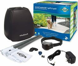 PetSafe Stay & Play Wireless Fence with Replaceable Battery