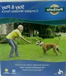 PetSafe Stay+Play Compact Wireless Fence PIF00-12917 Dog Ele