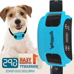 System Wireless Dog Gps Angelakerry Fence Outdoor Pet Contai