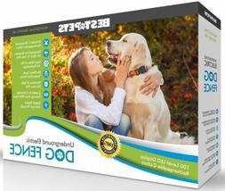 Underground Electric Dog Fence 2 Wireless Shock Collar Water