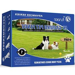 Underground Wired Pet Containment System  - 100% Safe Invisi