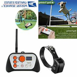 Wireless Dog Electric Fence Containment Pet Boundary Trainin