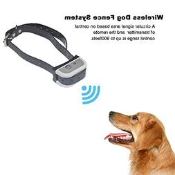 JUSTPET Wireless Dog Fence Electric Pet Containment System,