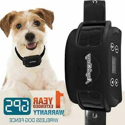 AngelaKerry Wireless Dog Fence System with GPS, Outdoor Invi