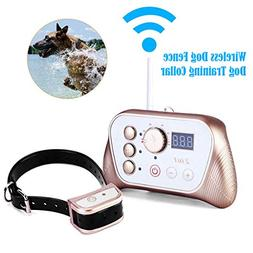 Wireless Dog Fence Training Collar 2-in-1 System, Stablest S
