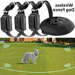 wireless electric dog fence for 1 2
