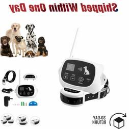 Transmitter Collar Receiver 1 2 3 Dogs Wireless Fence Pet Co