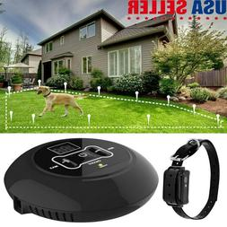 Wireless Electric Fence Containment System Rechargable Pet D