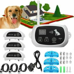 1/2/3 Wireless Dog Fence Pet Containment System Transmitter