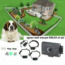 Waterproof Shock Collar Electric Dog Pet Fence System for 1/